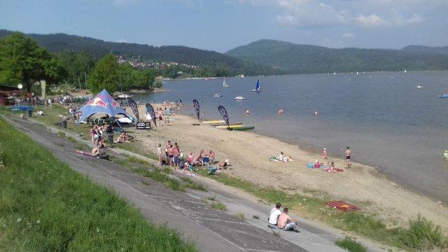 Jezioro Żywieckie -600 m od obiektu