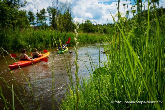W okolicach są organizowane spływy kajakowe po rzece Tanew. Zapraszamy.