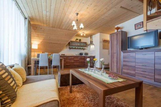 Apartament Pod Smerkiem w Kościelisku
