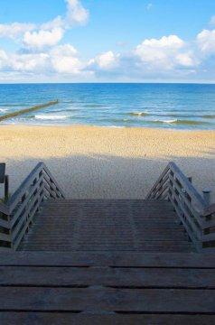 Bezpośrednie zejście na plaże
