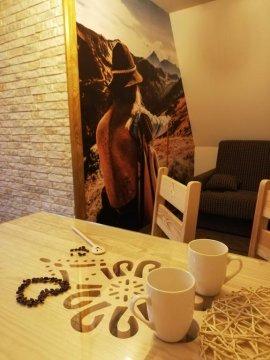 Apartament Folk&Dream Harenda Zakopane. Widok na Tatry