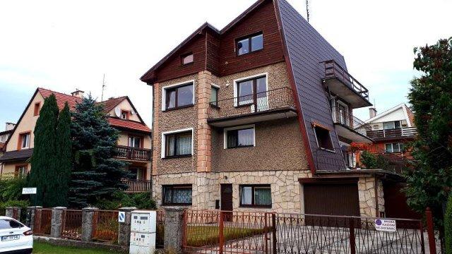 widok domu - Apartamenty u Michała