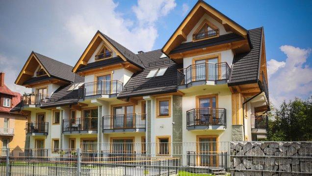 Apartament Karibu | Balkon z widokiem na góry, centrum
