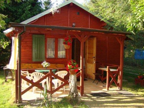 Domki drewniane nad Jez. Wilczyńskim   Pełne wyposażenie   Doskonałe dla rodzin