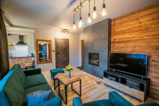 Green Wood Apartment | Komfortowy apartament w spokojnej dzielnicy Wisły