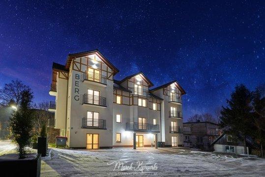 Apartamenty BERG w centrum Karpacza z widokiem na góry