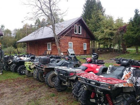 Drewniany domek Rzepedź Wieś