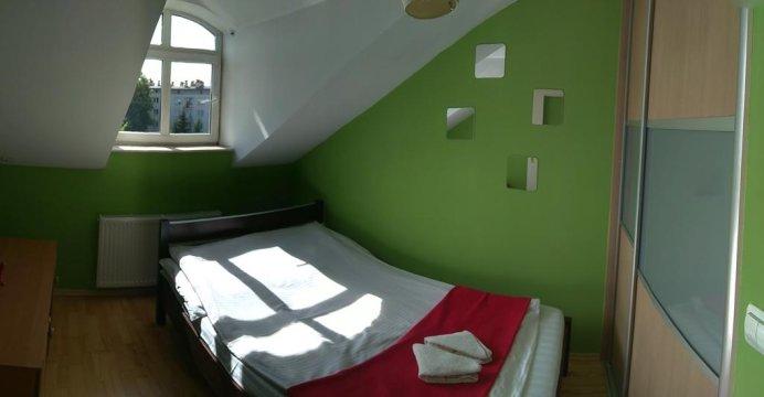 Sypialnia 1 - Apartament Arkada w ścisłym centrum