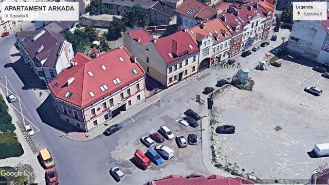 Okolica i kamienica - Apartament Arkada w ścisłym centrum