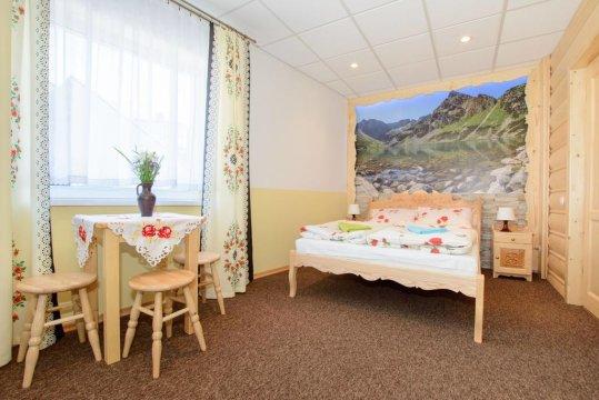 Apartament 4-6 osobowy - Apartament Krupówki 36/8. Góralski styl, wspaniałe widoki na Giewont