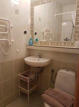 łazienka pokoju nr 1 - VILLA AMBER  USTKA - pokoje z osobnym wejściem