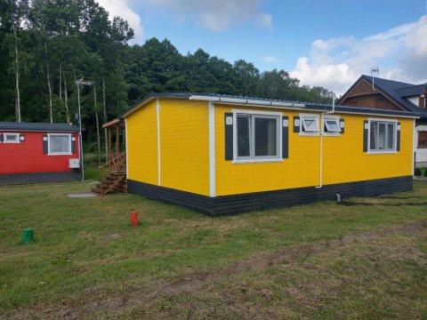 Domek żółty -idealny dla rodzin-całoroczny