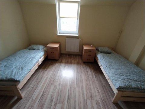 Pokój 2 os.- tv+klima, wi-fi - Hostel z pokojami 2 i 4 osobowymi wyposażonymi w klimatyzację i wi-fi