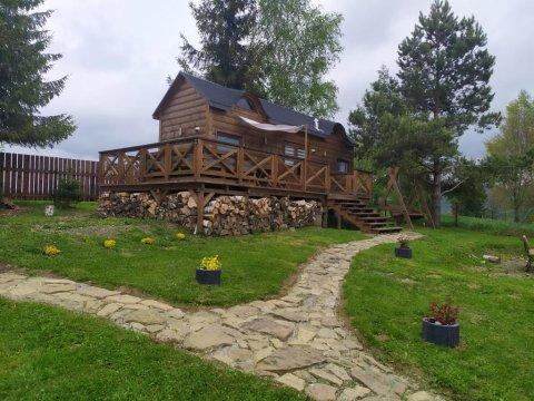 Domek 2 - Domek w Wysokich Bieszczadach! Widok na Połoniny bieszczadzkie