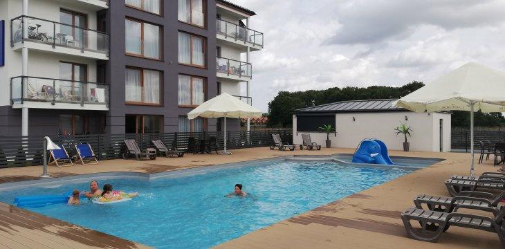Sarbinowo - Rodzinny Apartament 32 u Ewy 60m2