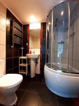 Łazienka w pokoju 2os z oddzielnym wejściem - Pokoje gościnne Lenka