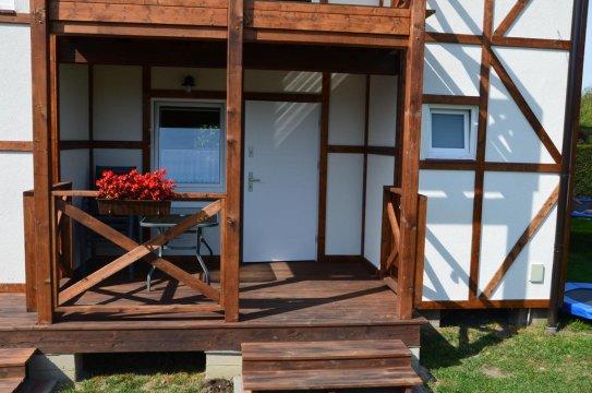 Komfortowe domki letniskowe   10 min. spacerem do plaży