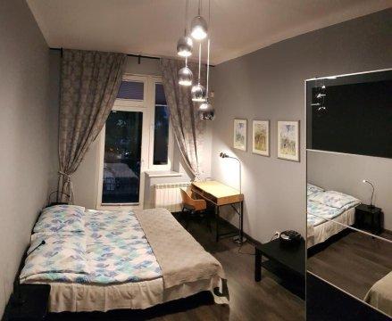 sypialnia 3 os. ap . 2 pietro, 60mkw - Apartamenty Centrum. 30 metrów od Krupówek