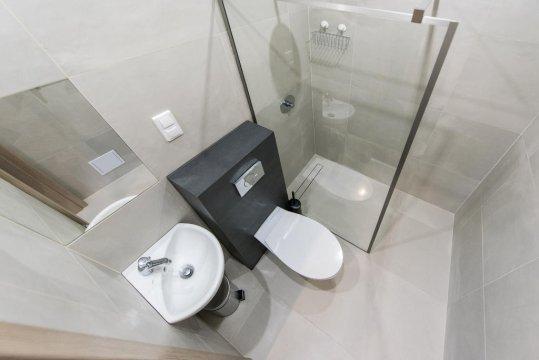 łazienka w pokoju - Hostel SMS