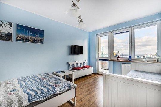 Apartament nr 6 - Noclegi Gdynia Centrum - b.d. ceny, widok na morze