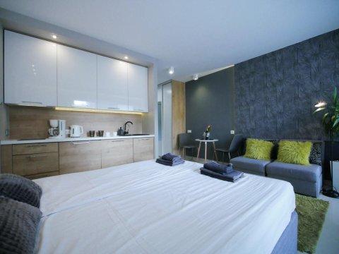 4UApart-Apartment studio Mohito - 4UApart-Apartament studio Mohito-uroczy apartament dla pary