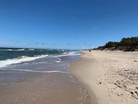 Plaża w sąsiedztwie ośrodka - O.W. Jaroszowiec Domki letniskowe