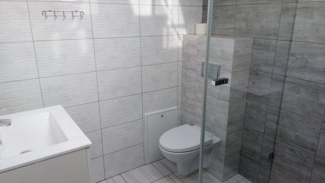 łazienka Apartament studio 3 os. z aneksem. -  Całoroczny nowoczesny obiekt nad morzem..m