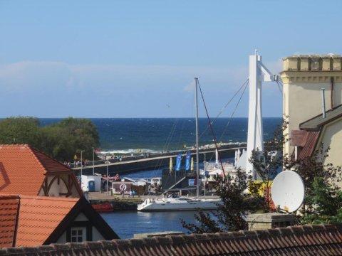 widok z okna - BetulaAPART - Apartament z widokiem na morze