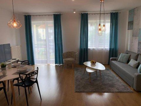 Apartament Tarsis 4 -osobowy, Bon,blisko morza, parking, w sąsiedztwie Eko Parku