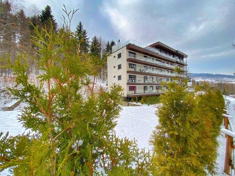 Kurort Kozubnik Resort - Kurort Kozubnik - Apartament*33   balkon z fantastycznym widokiem