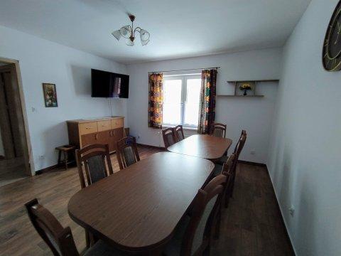 Do wynajęcia dom w Bieszczadach dla 13 osób, 4 pokoje