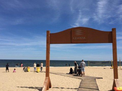 plaża Brzeźno - Nadmorski Apartament Caffe Latte w Gdańsku