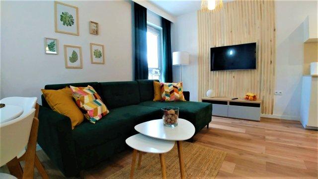 Apartament 32-1 Bałtycka Kołobrzeg przy porcie rybackim 800 metrów od plaży