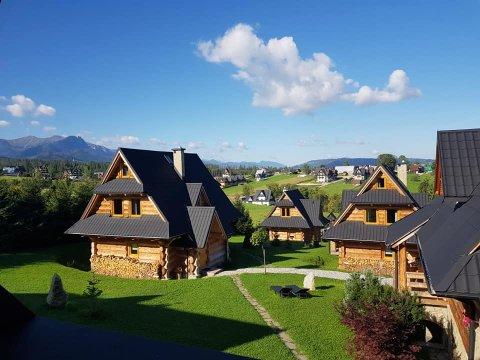 Chałupki pod Giewontem - góralskie domki z pięknym widokiem na Tatry!