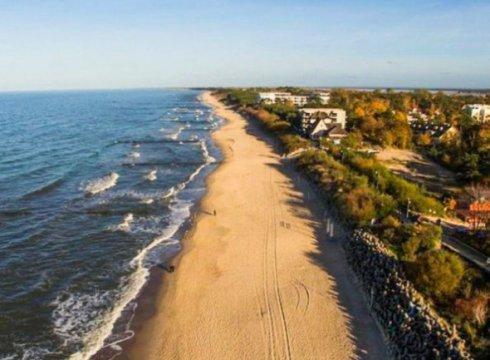 Wspaniały apartament 9 minut od plaży