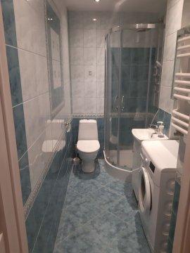 toalet - Mieszkanie 3 pokojowe w Sopocie