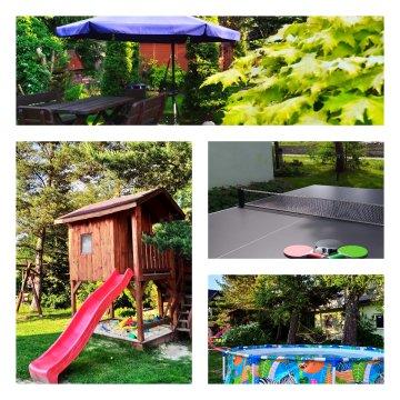 Dom Wczasowy Jastrun | Ogród, plac zabaw, parking