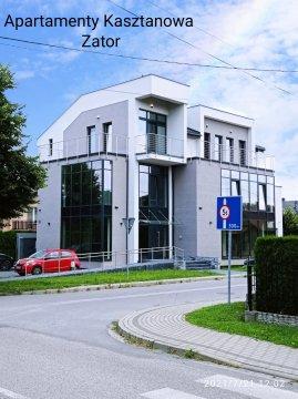 budynek - Apartamenty Kasztanowa Zator