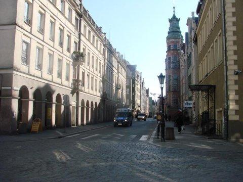 widok od ulicy Węglarskiej