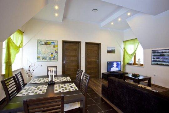 salon z aneksem jadalnym 1 piętro