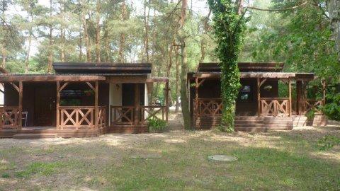 OW Sosenka - domki nad samym jeziorem