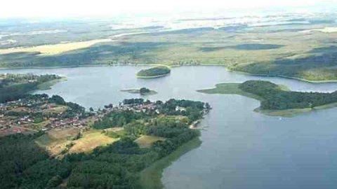 Jezioro Niesłysz/Niesulice/Przełazy