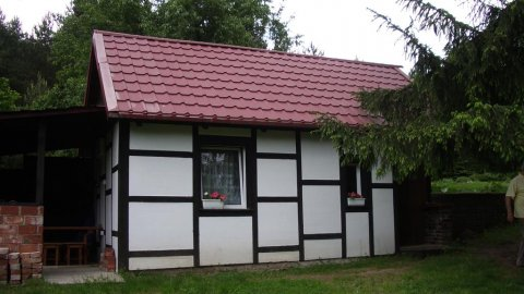 Dom nad jeziorem Smoleńsko i rzeką Gwdą