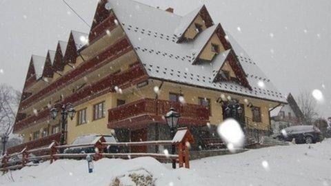 Pensjonat PREZYDENT z widokiem na panoramę Gorców