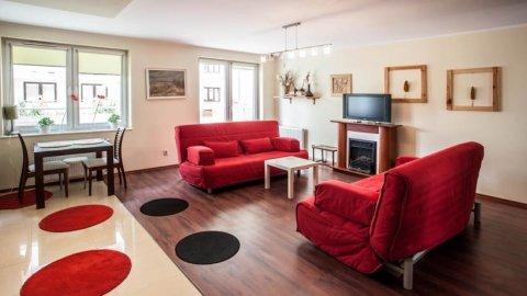 Apartament Żaglowce Zielone Tarasy, Piano Diva | ogród | kominek | park wodny