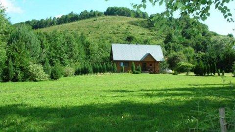 Domki nad Strumieniem | Większy do 14 osób, mniejszy do 4 osób