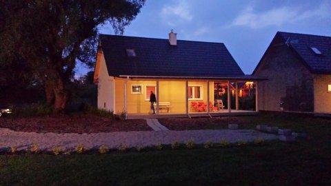 Domki Letniskowe Morska Polana | taras | ognisko | 15 min spacerem do plaży