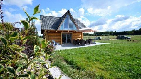 WRZOSPA. Całoroczny dom na Mazurach z basem, sauną, ruską banią i jacuzzi