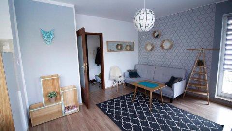 Apartament Scandi de Lux 45m | balkon | otoczenie lasu | 5 min spacerem od plaży