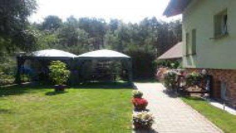 Zielony Domek blisko jeziora